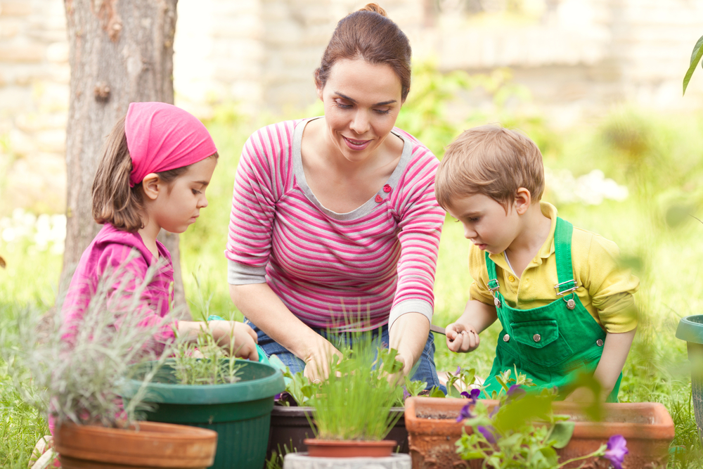 3 Easy Herbal Projects to Do with Children